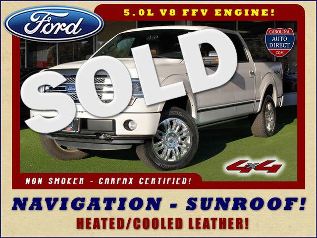 2013 Ford F-150 Platinum SuperCrew 4x4 - NAVIGATION - SUNROOF! Mooresville , NC 0