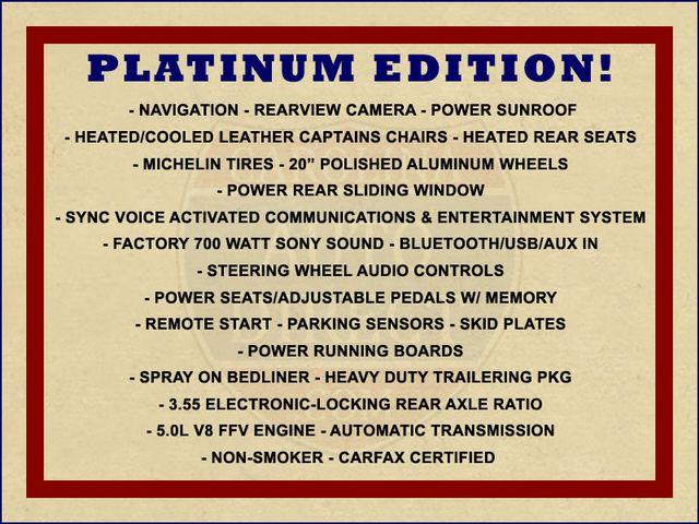 2013 Ford F-150 Platinum SuperCrew 4x4 - NAVIGATION - SUNROOF! Mooresville , NC 1