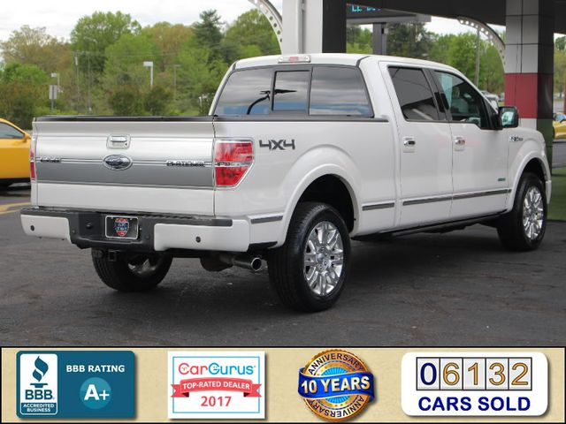 2013 Ford F-150 Platinum SuperCrew 6.5' Bed 4x4 - NAV - SUNROOF! Mooresville , NC 2