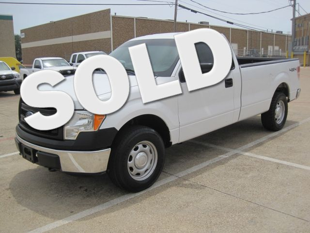 2013 Ford F-150 Reg Cab XL 4x4, 1 Owner, Power Equipment,Ready to Work. Plano, Texas 4