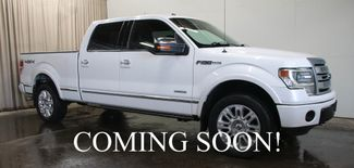 2013 Ford F-150 Platinum 4-Door Supercrew 4x4 w/Navigation, in Eau Claire, Wisconsin