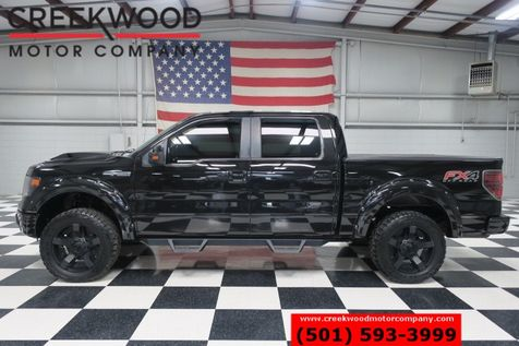 2013 Ford F-150 FX4 Lariat 4x4 5.0 Lifted Black XD 20s Nav Leather in Searcy, AR