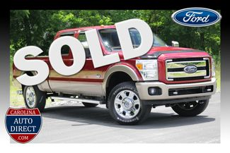 2013 Ford Super Duty F-350 SRW Pickup King Ranch Crew Cab 4x4 Mooresville , NC