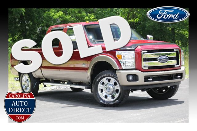 2013 Ford Super Duty F-350 SRW Pickup King Ranch Crew Cab 4x4 Mooresville , NC 0