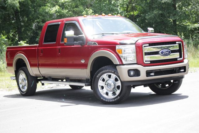 2013 Ford Super Duty F-350 SRW Pickup King Ranch Crew Cab 4x4 Mooresville , NC 16
