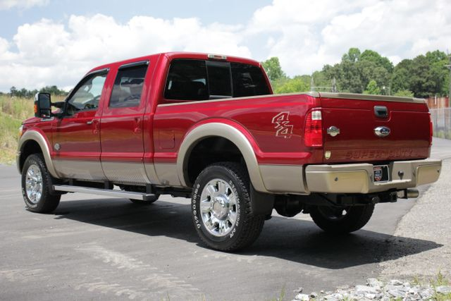 2013 Ford Super Duty F-350 SRW Pickup King Ranch Crew Cab 4x4 Mooresville , NC 18