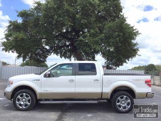 2013 Ford F150 Crew Cab Lariat 3.5L V6 4X4 | American Auto Brokers San Antonio, TX in San Antonio Texas