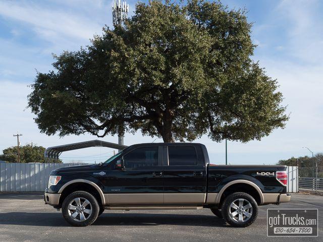 2013 Ford F150 Crew cab King Ranch EcoBoost 4X4   American Auto Brokers San Antonio, TX in San Antonio Texas