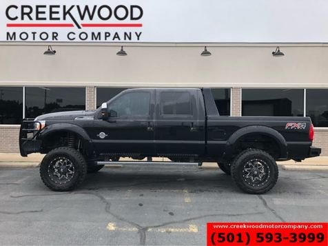 2013 Ford Super Duty F-250 Lariat FX4 4x4 Diesel Lifted Leather Nav Black 20s in Searcy, AR