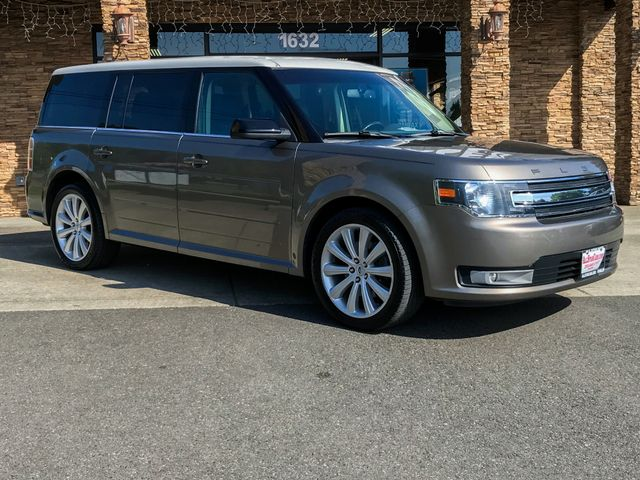 2013 Ford Flex SEL Clean CARFAX Brown 2013 Ford Flex SEL AWD 6-Speed Automatic with Select-Shift