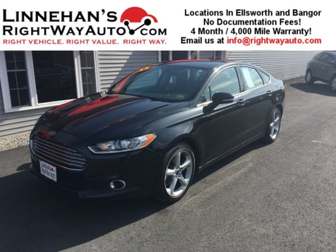 2013 Ford Fusion SE in Bangor