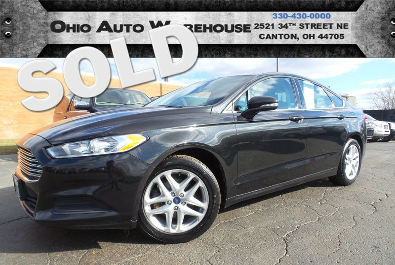 2013 Ford Fusion SE 34 MPG Highway Clean Carfax We Finance | Canton, Ohio | Ohio Auto Warehouse LLC in Canton Ohio