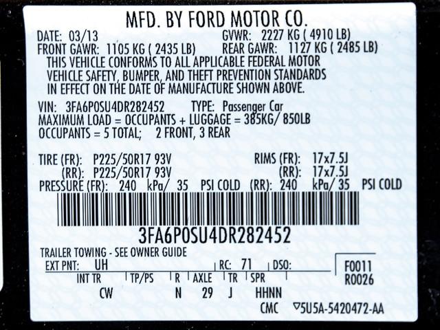 2013 Ford Fusion Energi Titanium Burbank, CA 11