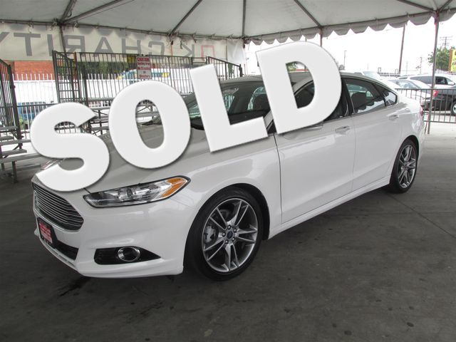 2013 Ford Fusion Titanium This particular vehicle has a SALVAGE title Please call or email to che