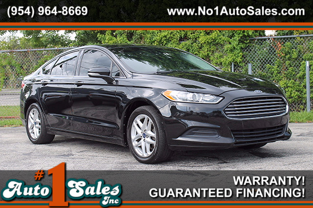 2013 Ford Fusion SE  FACTORY WARRANTY CARFAX CERTIFIED FLORIDA VEHICLE 4 SERVICE RECORDS TR