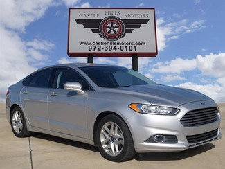 2013 Ford Fusion SE - Leather, Heated Seats, Bluetooth  | Lewisville, Texas | Castle Hills Motors in Lewisville Texas