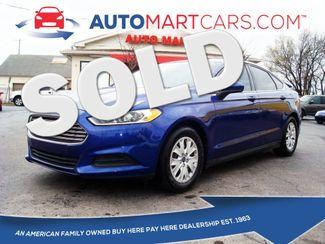 2013 Ford Fusion S | Nashville, Tennessee | Auto Mart Used Cars Inc. in Nashville Tennessee