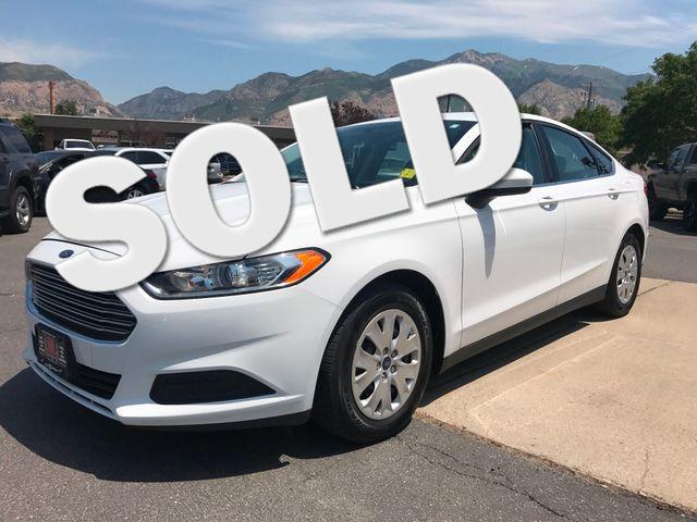 2013 Ford Fusion S Ogden, Utah 0
