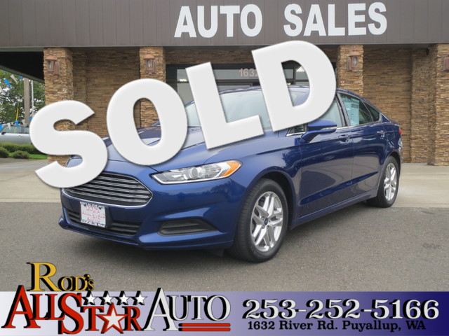 2013 Ford Fusion SE The CARFAX Buy Back Guarantee that comes with this vehicle means that you can