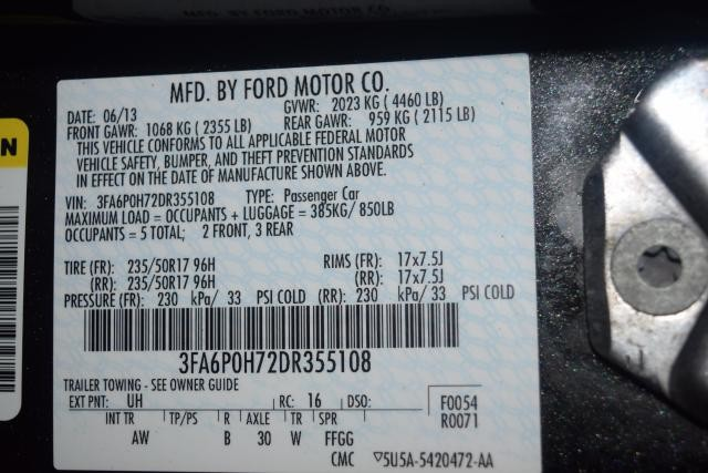 2013 Ford Fusion SE Richmond Hill, New York 15