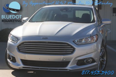 2013 Ford Fusion Titanium | NAV-BTA-DRIVER ASSIST BLIND SPOT-LANE DEPART-PARK ASSIST-LOADED-WOW! in Mansfield, TX