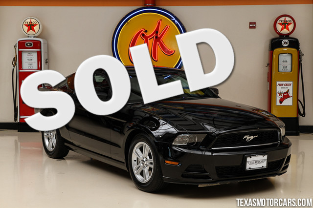 2013 Ford Mustang V6 This Clean Carfax 2013 Ford Mustang V6 is in great shape with only 66 582 mi