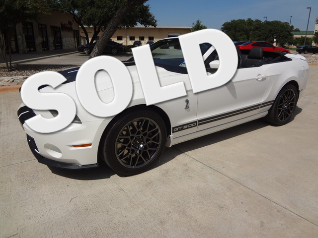 2013 Ford Mustang Shelby GT500 Austin , Texas 0