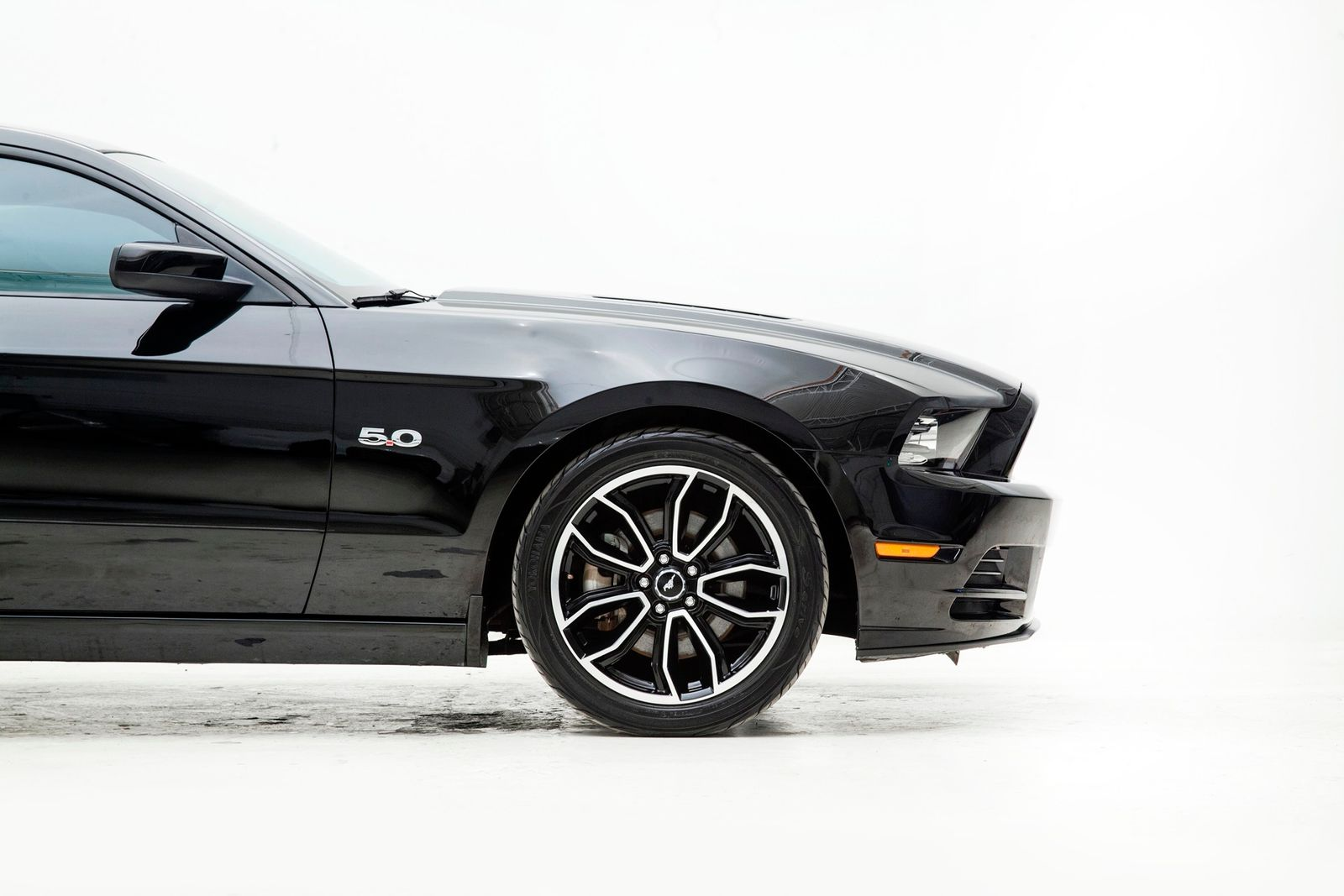 Used 2013 Black Ford Mustang  GT Premium Photo 8