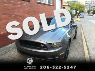 2013 Ford Mustang GT Premium 5.0L 6-Speed Manual Local 1 Owner California Special Electronic & Comfort Pkgs Seattle, Washington