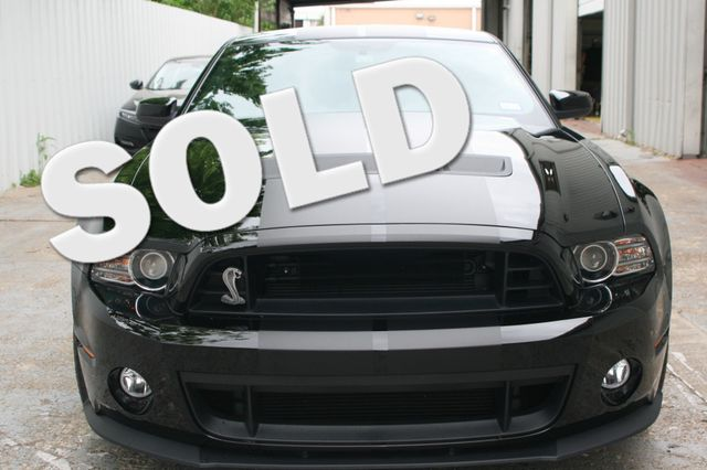 2013 Ford Mustang SVT Shelby GT500 Houston, Texas 0