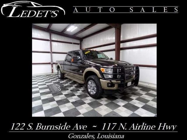 2013 Ford Super Duty F-250  King Ranch 4WD - Ledet's Auto Sales Gonzales_state_zip in Gonzales Louisiana