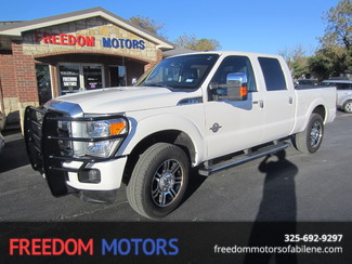 2013 Ford Super Duty F-250 Pickup Platinum 4X4 in Abilene,Tx Texas
