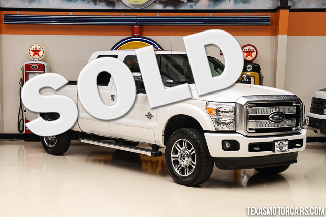 2013 Ford Super Duty F-250 Platinum This Carfax 1-Owner 2013 Ford Super Duty F-250 Platinum is in