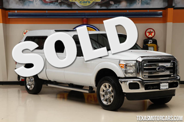 2013 Ford Super Duty F-250 XLT This Carfax 1-Owner 2013 Ford Super Duty F-250 pickup XLT is in gre