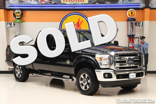 2013 Ford Super Duty F-250 Lariat 4x4 This Carfax 1-Owner 2013 Ford Super Duty F-250 Pickup Lariat