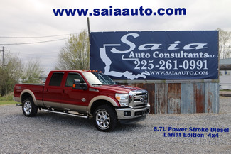 2013 Ford F 250 Lariat Crew Cab Fx4 6.7 Diesel Navi Roof 20s Loaded in Baton Rouge  Louisiana
