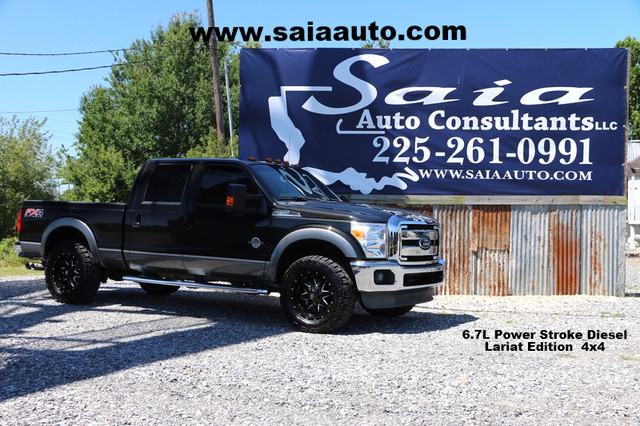 2013 Ford F250 Crew Cab Lariat 6.7 Diesel Fx4 Navi Navi Roof Htd Ac Seats FX4 New 35s on 20s Loaded ONE OWNER CARFAX READY TO GEAUX | Baton Rouge , Louisiana | Saia Auto Consultants LLC in Baton Rouge  Louisiana