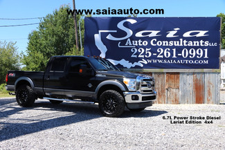 2013 Ford F250 Crew Cab Lariat 6.7 Diesel Fx4 Navi Navi Roof Htd Ac Seats FX4 New 35s on 20s Loaded ONE OWNER CARFAX READY TO GEAUX | Baton Rouge , Louisiana | Saia Auto Consultants LLC-[ 2 ]