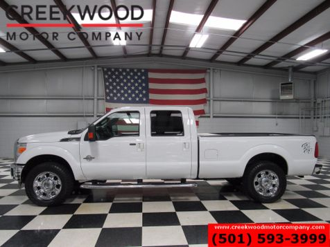 2013 Ford Super Duty F-250 Lariat 4x4 Diesel Long Bed Leather White Low Miles in Searcy, AR