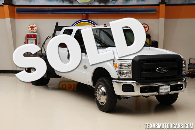 2013 Ford Super Duty F-350 4x4 This Carfax 1-Owner 2013 Ford Super Duty F-350 DRW Chassis Cab 4x4