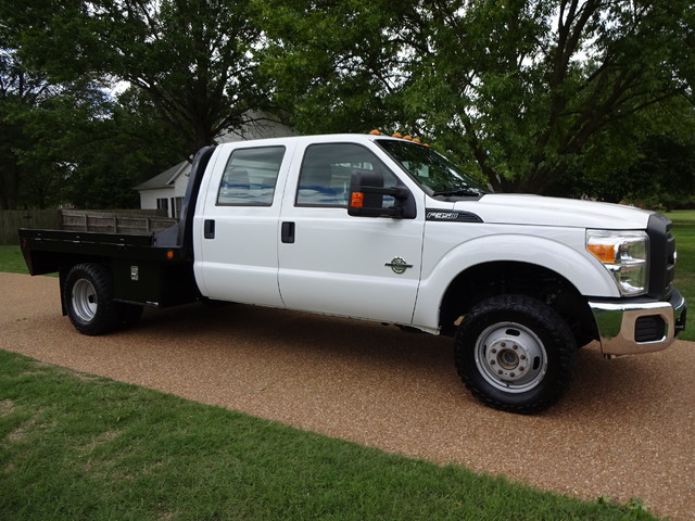 ford 350 dually flatbed xl 4x4 duty super chassis drw cab enlarge