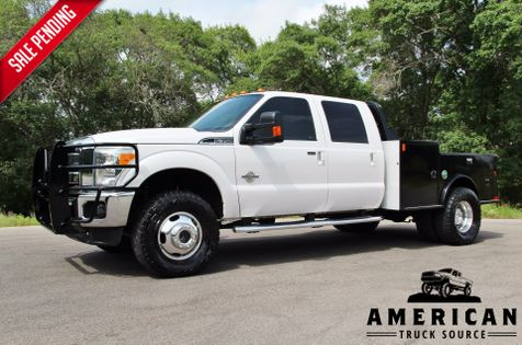 2013 Ford F-350 Lariat - Utility Bed - 4x4 in Liberty Hill , TX