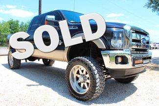 2013 Ford Super Duty F-350 SRW Lariat Crew Cab 4X4 6.7L Powerstroke Diesel Auto LIFTED LOADED Sealy, Texas