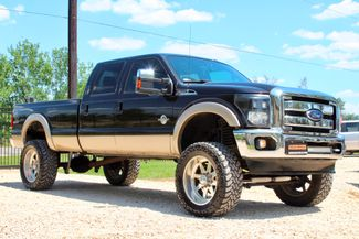 2013 Ford Super Duty F-350 SRW Lariat Crew Cab 4X4 6.7L Powerstroke Diesel Auto LIFTED LOADED Sealy, Texas 1
