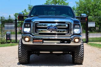 2013 Ford Super Duty F-350 SRW Lariat Crew Cab 4X4 6.7L Powerstroke Diesel Auto LIFTED LOADED Sealy, Texas 3