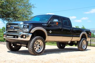 2013 Ford Super Duty F-350 SRW Lariat Crew Cab 4X4 6.7L Powerstroke Diesel Auto LIFTED LOADED Sealy, Texas 5