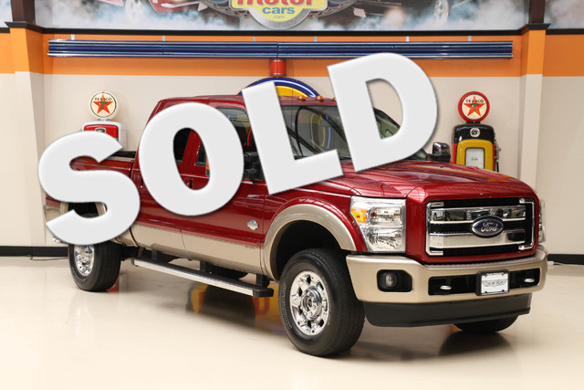 2013 Ford Super Duty F-350 King Ranch This Carfax 1-Owner 2013 Ford Super Duty F-350 SRW Pickup Ki