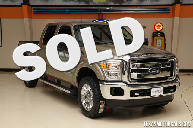 2013 Ford Super Duty F-350 Lariat 2013 Ford F-350 SRW 4x4 This truck is fully equipped with fact