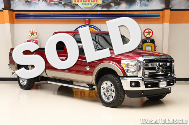 2013 Ford Super Duty F-350 Lariat This Carfax 1-Owner 2013 Ford Super Duty F-350 SRW Lariat is in