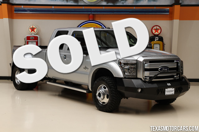 2013 Ford Super Duty F-450 Platinum This 2013 Ford Super Duty F-450 Platinum is in great shape wit
